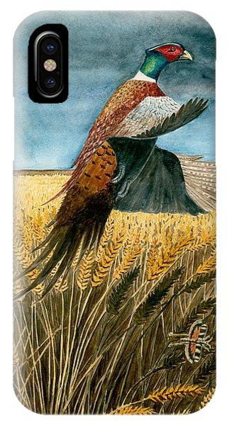 Pheasant Rising IPhone Case