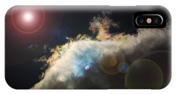 Phenomenon With Lens Flare IPhone Case
