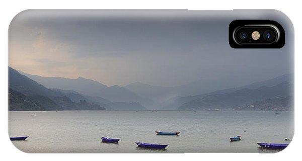 Phewa Lake In Pokhara IPhone Case