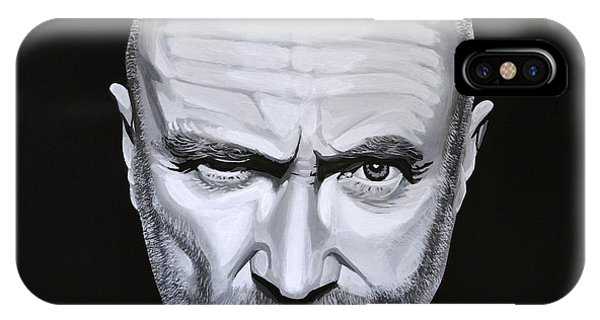 Hit iPhone Case - Phil Collins by Paul Meijering