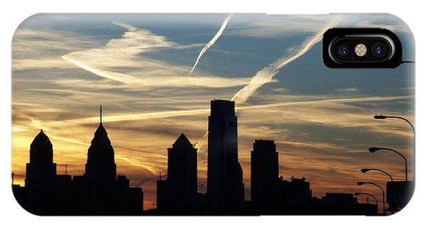 Philadelphia At Dusk IPhone Case