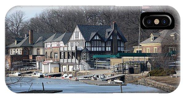 Philadelphia - Boat House Row IPhone Case