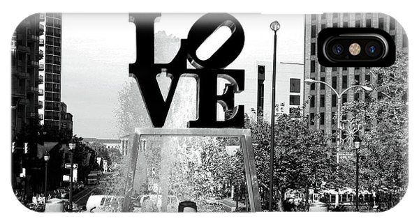 Philadelphia Love Bw IPhone Case