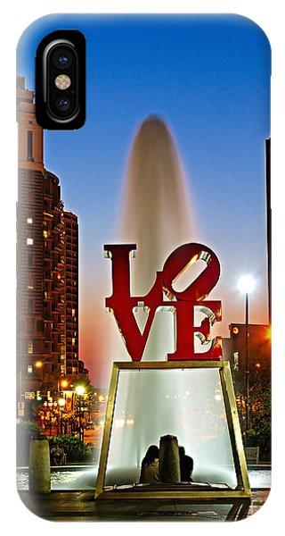 Philadelphia Love Park IPhone Case
