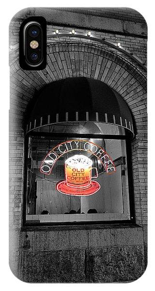 Philadelphia -old City Coffee IPhone Case
