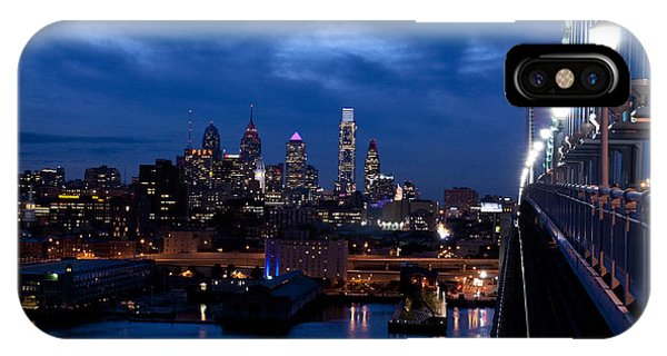 Philadelphia Twilight IPhone Case