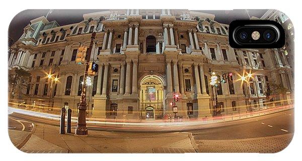 Philadelphia's Golden Glow  IPhone Case