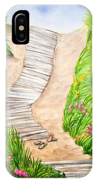 Philbin Beach Path IPhone Case