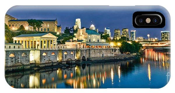 Philly Art Museum Night IPhone Case