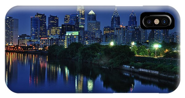 Cityscape iPhone Case - Philly Skyline by Mark Fuller