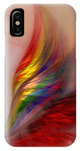 Phoenix-abstract Art IPhone Case