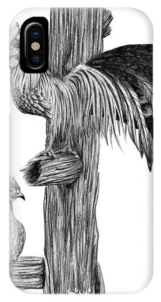 Phoenix Chicken Phone Case by Ashe Skyler