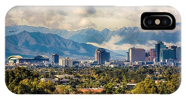 Phoenix Downtown IPhone Case