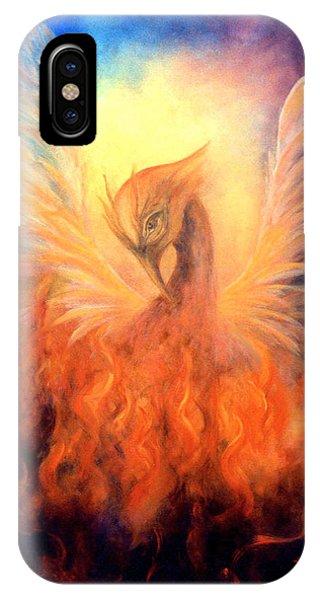 Phoenix Rising Phone Case by Marina Petro