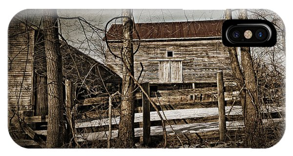 Country Barn Photograph IPhone Case