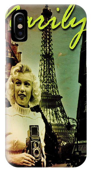 Photographer Marilyn IPhone Case