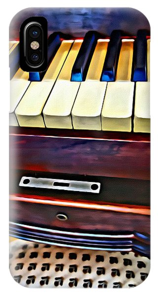 Piano And Stool IPhone Case