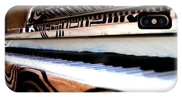 Piano In The Dark - Music By Diana Sainz IPhone Case