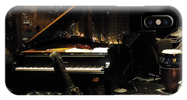 Piano Over Manhatten IPhone Case