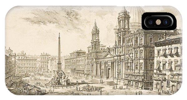 Piazza Navona IPhone Case