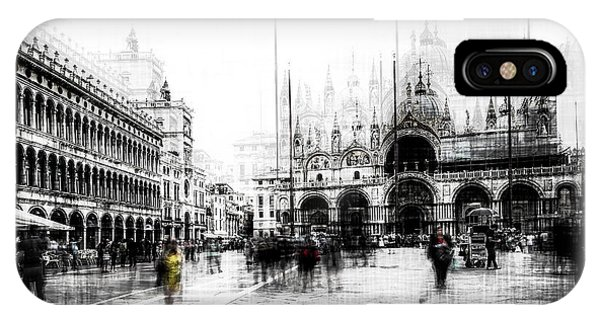Palace iPhone X Case - Piazza San Marco by Carmine Chiriac?