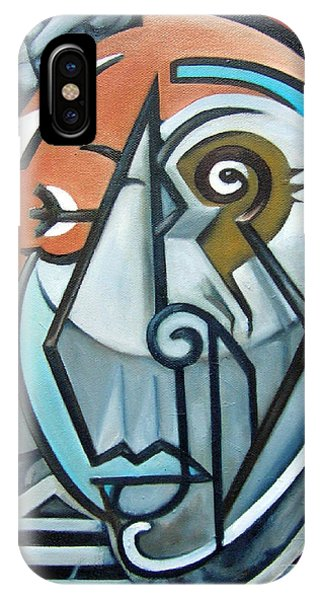 iPhone Case - Picasso Bust by Martel Chapman