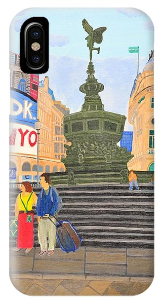 London- Piccadilly Circus IPhone Case