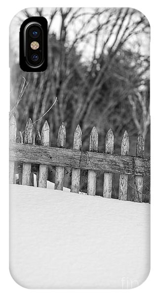 Etna iPhone Case - Picket Fence by Edward Fielding