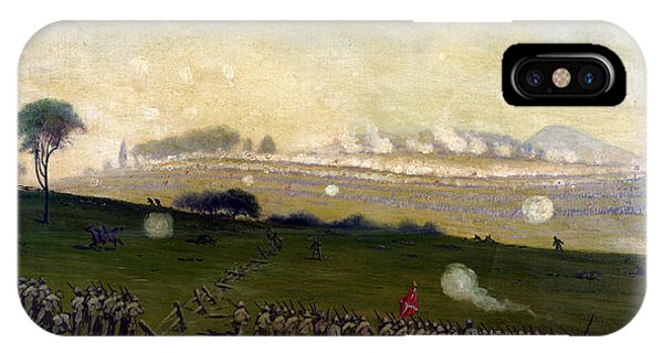 Picketts Charge On Union Center 3pm IPhone Case