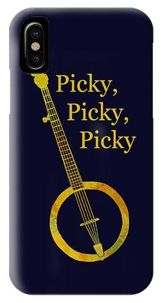 Picky Banjo IPhone Case