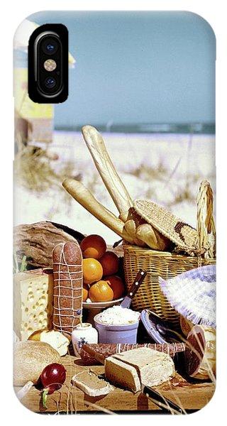 Picnic Display On The Beach IPhone Case