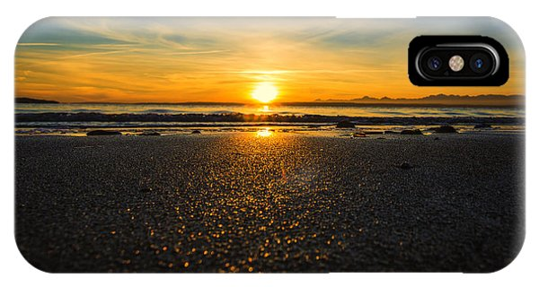 View Point iPhone Case - Picnic Point Sand by Ryan McGinnis
