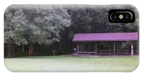 Picnic Shelter IPhone Case