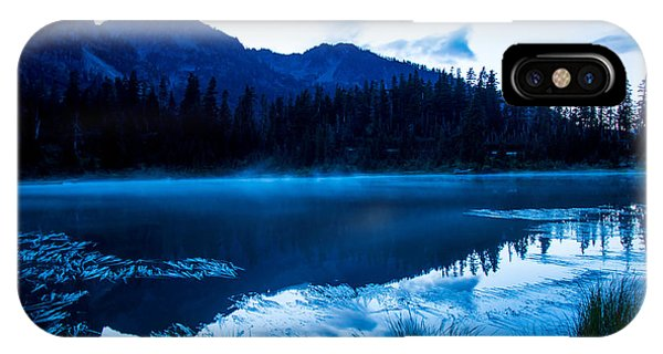 Picture Lake 3 IPhone Case