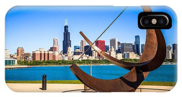 Picture Of Chicago Adler Planetarium Sundial IPhone Case