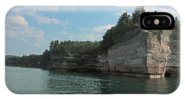 Pictured Rocks Battleship Formation IPhone Case
