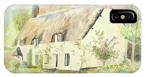 Picturesque Dunster Cottage IPhone Case