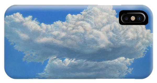 Cloud iPhone Case - Piece Of Sky 3 by James W Johnson