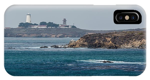 Piedras Blancas Lighthouse A2155 IPhone Case