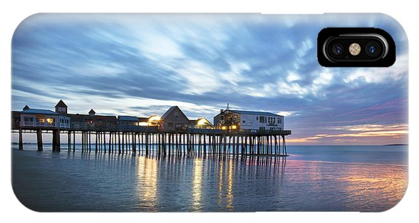 Orchard Beach iPhone Case - Pier At Dawn by Eric Gendron