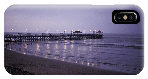 Pier At Dusk IPhone Case