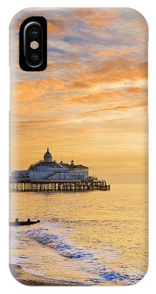 Pier At Sunrise IPhone Case