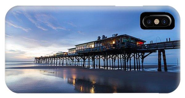 Pier At Twilight IPhone Case