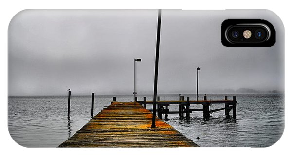 Pier Into The Fog IPhone Case