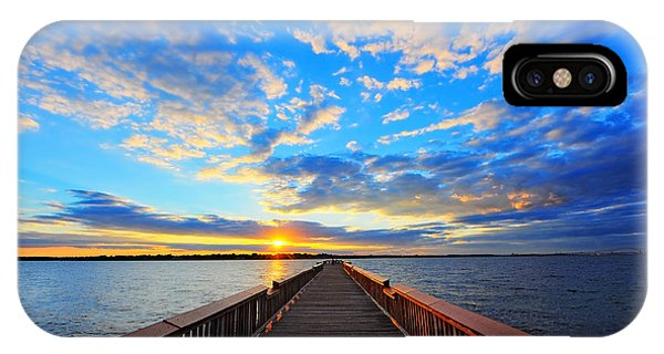 Pier Into The Sunset IPhone Case