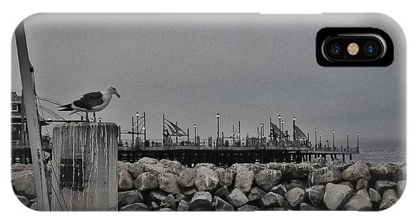 Pier Lights IPhone Case