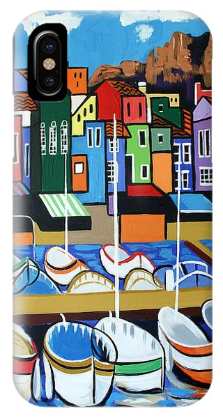 IPhone Case featuring the painting Pier One by Anthony Falbo