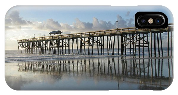 Pier Reflection IPhone Case