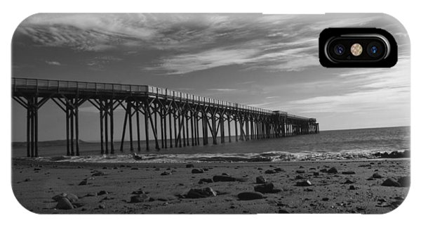 Pier San Simeon-1 IPhone Case