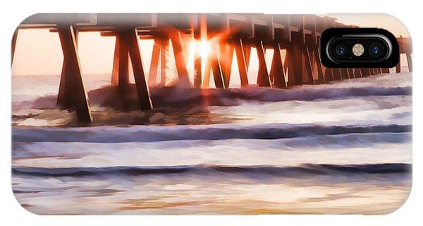 Pier Sunrise Too IPhone Case